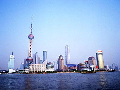 上海街並み(イメージ)