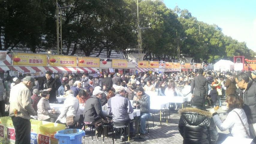 第4回名古屋中国春節祭 2日目風景