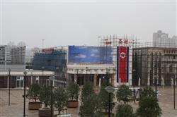 上海万博でまもなく完成の北朝鮮館