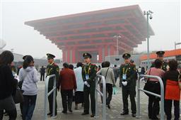 上海万博リハーサル