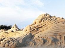 アモイ 砂彫刻